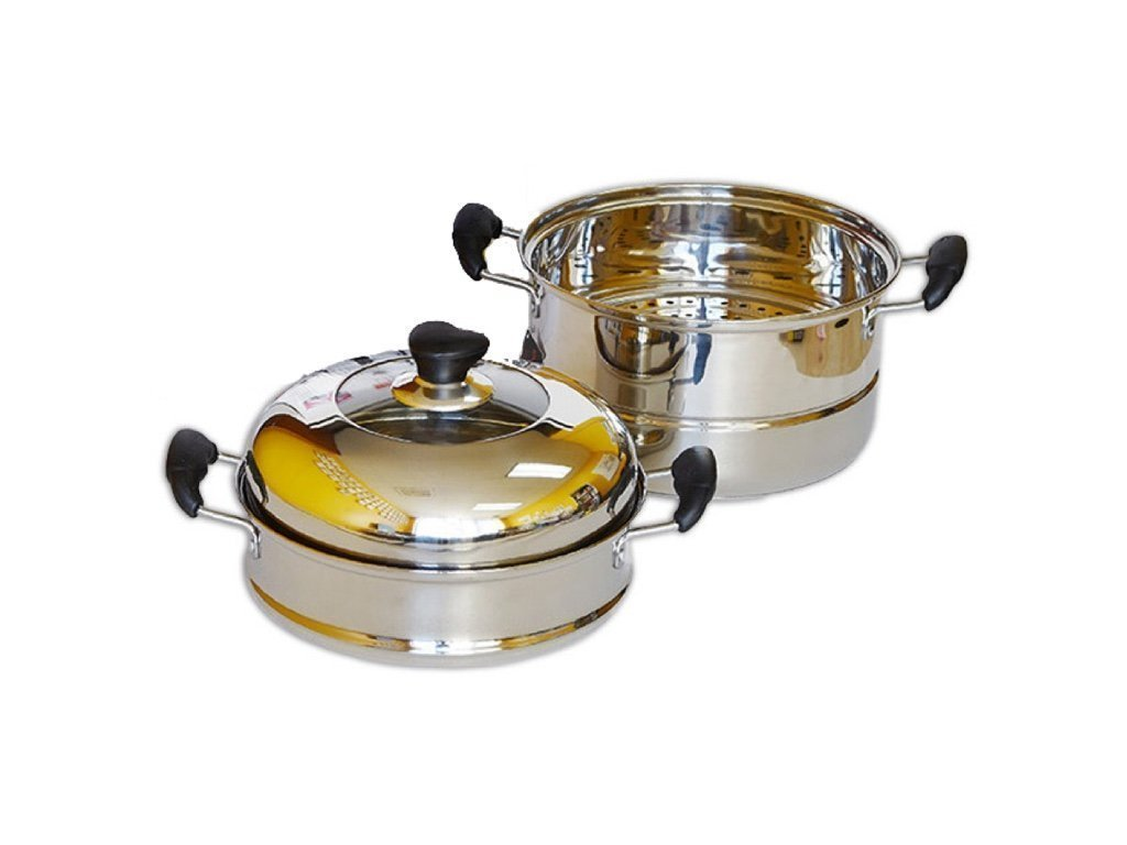 Home N Kitchenware Collection 32cm Stainless Steel Steam Pot (4-pieces)