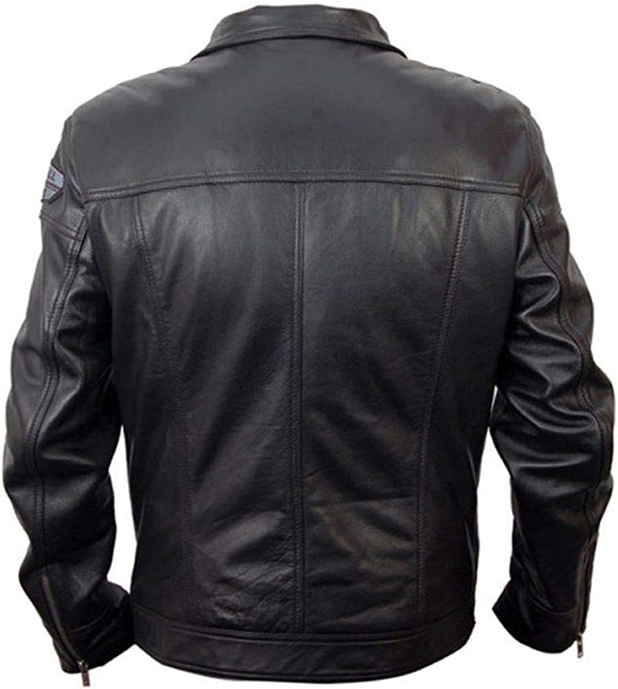 Stormwise Mens Fashion Need for Speed Leather Jacket