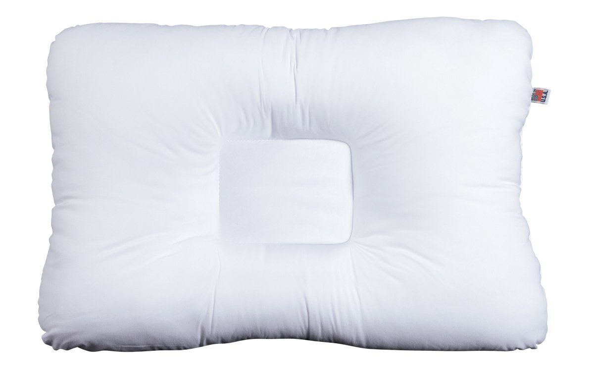 Midwest Pillow Company Cervical Orthopedic Support Pillow - White Firm
