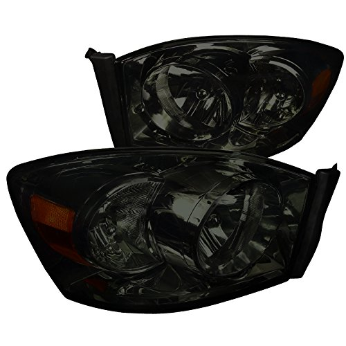 08 dodge ram smoked headlights - 3