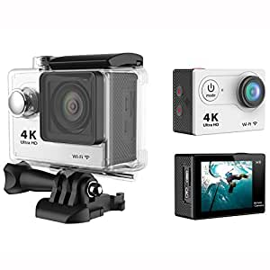 Sports Camera, Haip® Waterproof 12MP 2.0 inch WIFI Ultra-HD 4K Action DV Camcorder Sports Camera with 170 Degree Fish-eye Lens