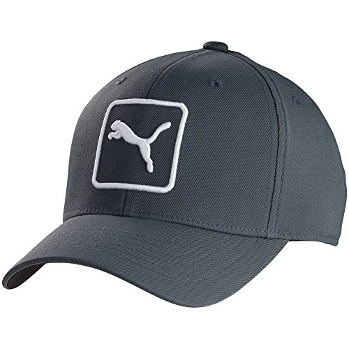 (Puma Cat Patch Relaxed Fit Cap (Periscope, Adjustable) Golf Hat)