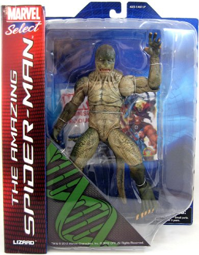 Marvel Select: The Amazing Spider-Man: The Lizard Action Figure (Lizard Man Action Figure)