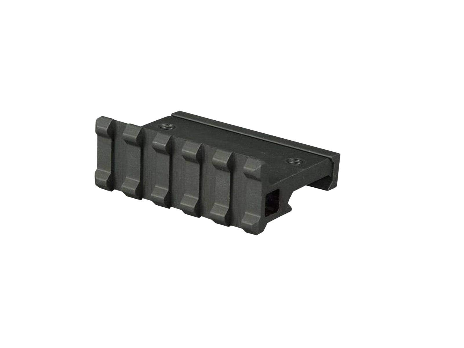 "Lion Gears Low Profile Tactical Picatinny/Weaver 90 Degree Angle Pro Mount, 2.16"" Long with 5 Slots"