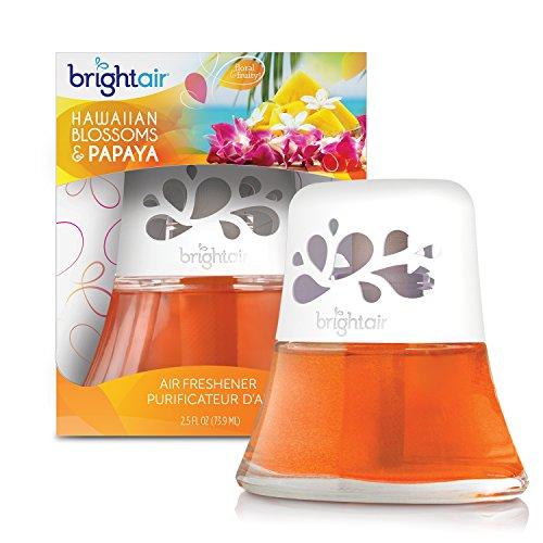 Bright Air Scented Oil Air Freshener and Diffuser, Hawaiian Blossoms and Papaya, 2.5 Ounces