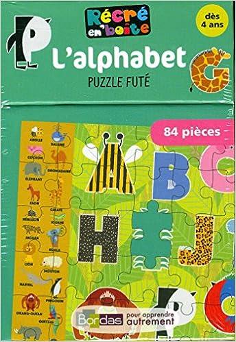 Livre gratuits en ligne Récré en Boîte - L'alphabet - Puzzle futé epub, pdf