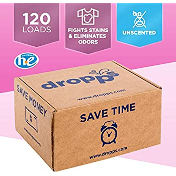 Amazon.com: Dropps Fabric Softener Pods, Unscented