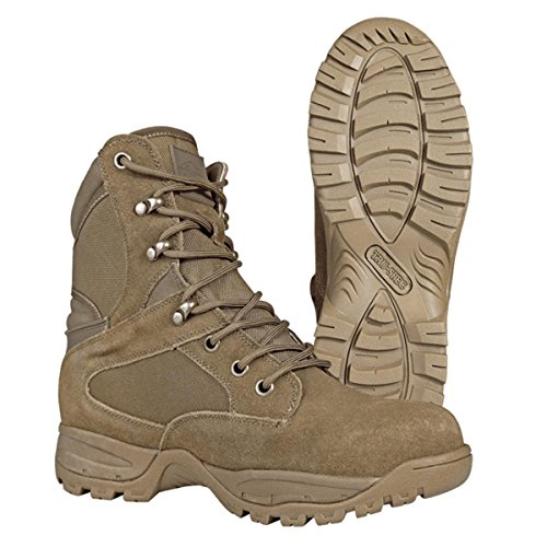 Tru-spec 4063 Mens Assalto Tattico 9 Coyote Stivali Coyote