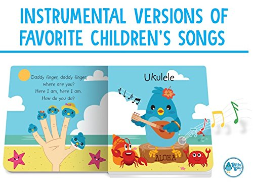 Ditty Bird Our Best Interactive Instrumental Music Book Babies. Educational Toys 1 Year Old. Toddler Musical Book to Learn Musical Instruments. Board Books 1 Year Old. 1 Year Old boy Girl Gifts. by Ditty Bird (Image #3)