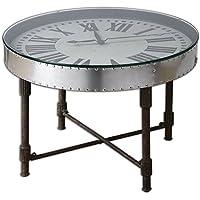 Uttermost 24321 Cassem Clock Table