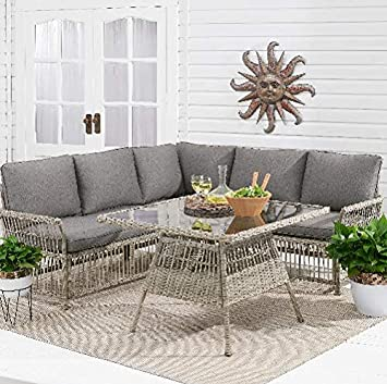 Amazon.com: Better Homes & Gardens Belfair 3-Piece Outdoor ...