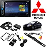Pioneer Touchscreen DVD Bluetooth Stereo Receiver Android iphone Support 2006-2012 Mitsubishi Eclipse SINGLE OR DOUBLE DIN Radio Dash Kit + Dash Camera