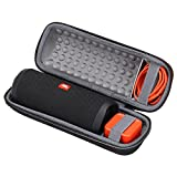 #5: XANAD Hard Case for JBL Flip 4 Waterproof Portable Bluetooth Speaker Storage Travel Carrying Bag
