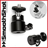 "PRO HIGH QUALITY 360 DEGREE SWIVEL 1/4"" TRIPOD HEAD MOUNT FOR DSLR CAMERAS ON TRIPODS AND MONOPOD"