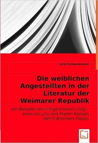 literaturepoche weimarer republik