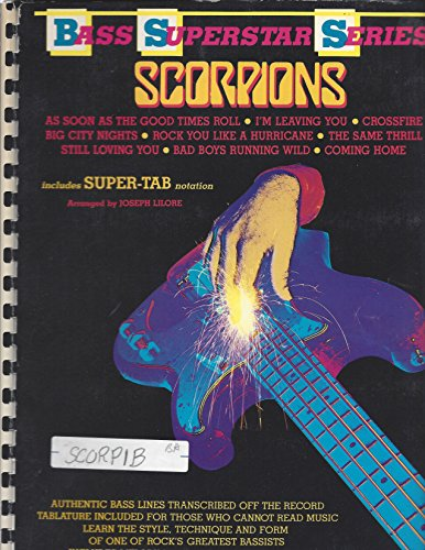 Bass Scorpion (Scorpions -- Bass Superstar (Bass Superstar Series))