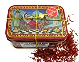 Spanish Coupe Quality Saffron Filaments 14 Gram Tin