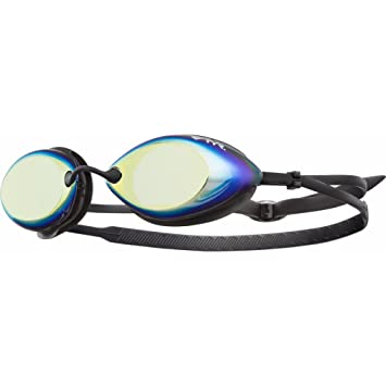 533d4bc4bf3 TYR Tracer Racing Metallized Swimming Goggles - Metallic Fire ...