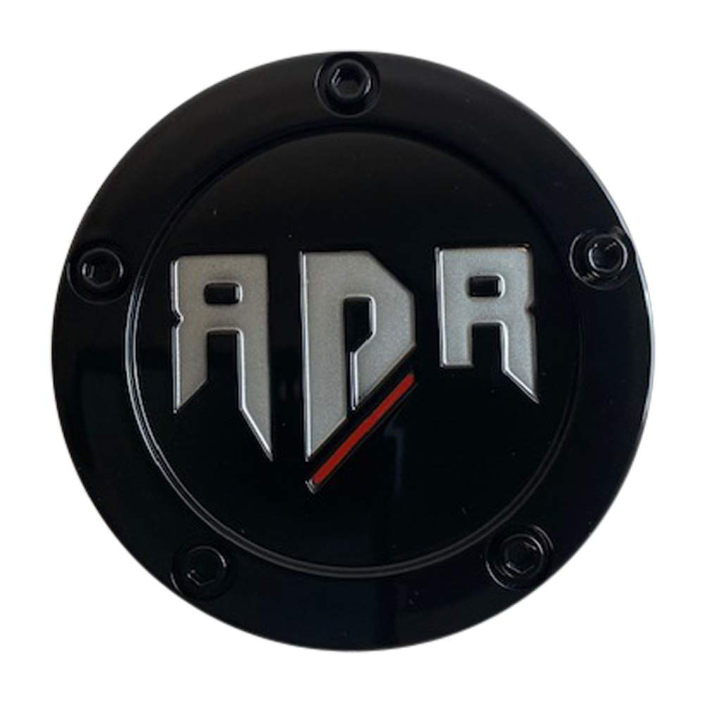 RDR Wheels CBRDR5-2P SJ1412-02 Gloss Black Center Cap