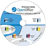 Office Suite 2019 Alternative to Microsoft Office Home Student and Business Compatible with Word, Excel, PowerPoint for Windows 10, 8.1 8 7 Vista XP by Apache OpenOffice ms Word ms Office (DVD-DISC)