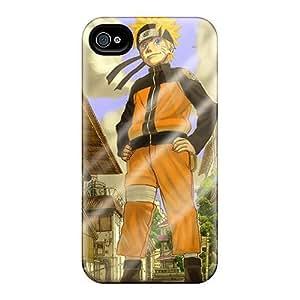 Fashion PCfuAVJ592uhlAO Case Cover For Iphone 4/4s(naruto)