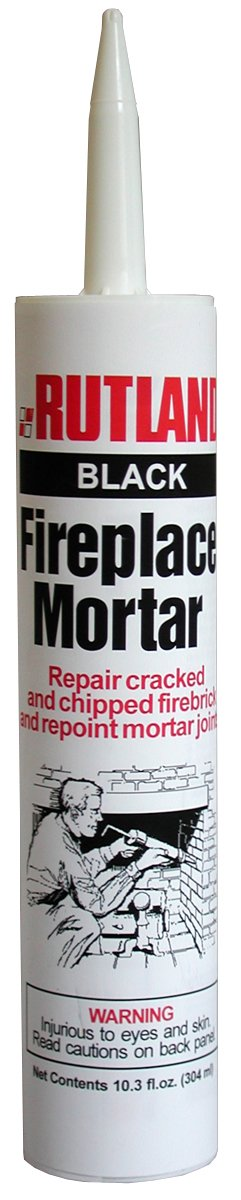 Rutland Fireplace Mortar Cartridge, 10.3-Ounce, Black Rutland Products 63