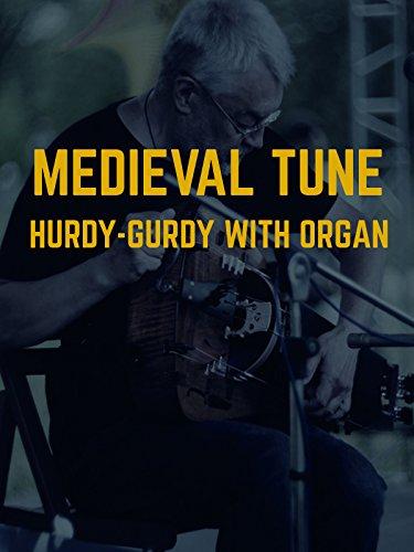 Medieval Tune. Hurdy-Gurdy With Organ