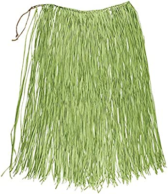 Boland - Rafia Falda Hawaii, Color Verde, 52240: Amazon.es ...