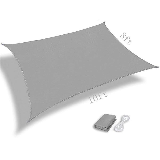KYCD - Toldo Rectangular para Sombra de toldo de jardín o al Aire ...