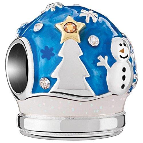 Snowglobe Charm (Authentic Chamilia Snow Globe Bead Charm)
