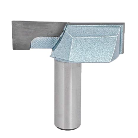 Meccion Industrial Bottom Cleaning Dado Router Bit 1/2-Inch ...
