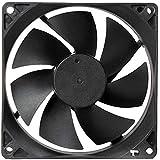 DC 12V Cooling Fan Black for PC Case CPU Cooler Radiator