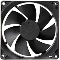 Generic Electronic spices DC 12V Cooling Fan for PC Case, CPU Cooler Radiator (Black)