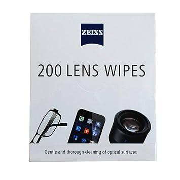 Toallitas prehumectadas para lentes de gafas, cámara, teléfono, limpieza, 200 ct: Amazon.es: Oficina y papelería