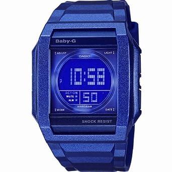 f180e8dd43a3 Casio BG-810-2BDR BABY-G Ladies Digital Resin Strap Watch: Amazon.co.uk:  Watches