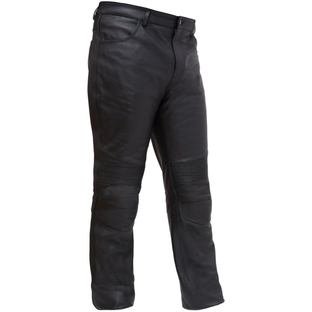 First Manufacturing Men's Smarty Motorcycle Pants, Black, 32