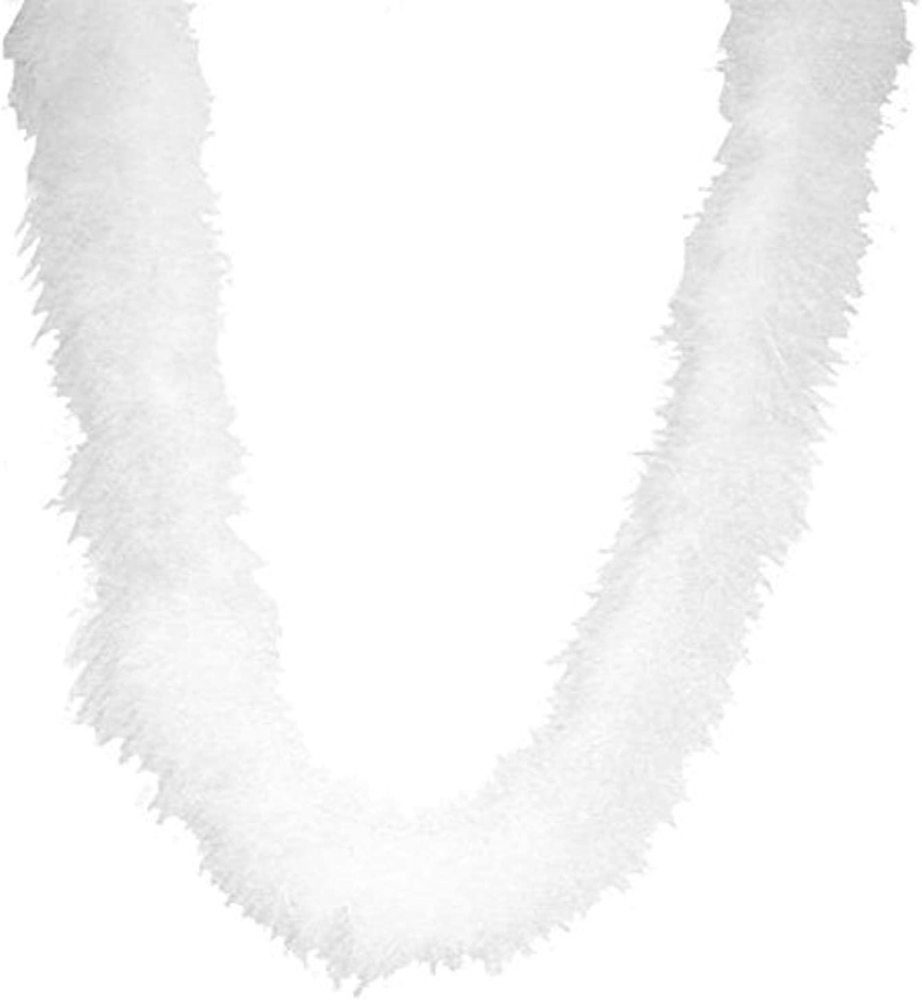 Touch of Nature 38002 Fluffy Boa, White