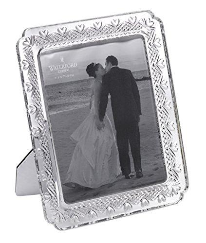 Waterford Wedding Heirloom 8 x 10 Frame Crystal Heirloom Frame