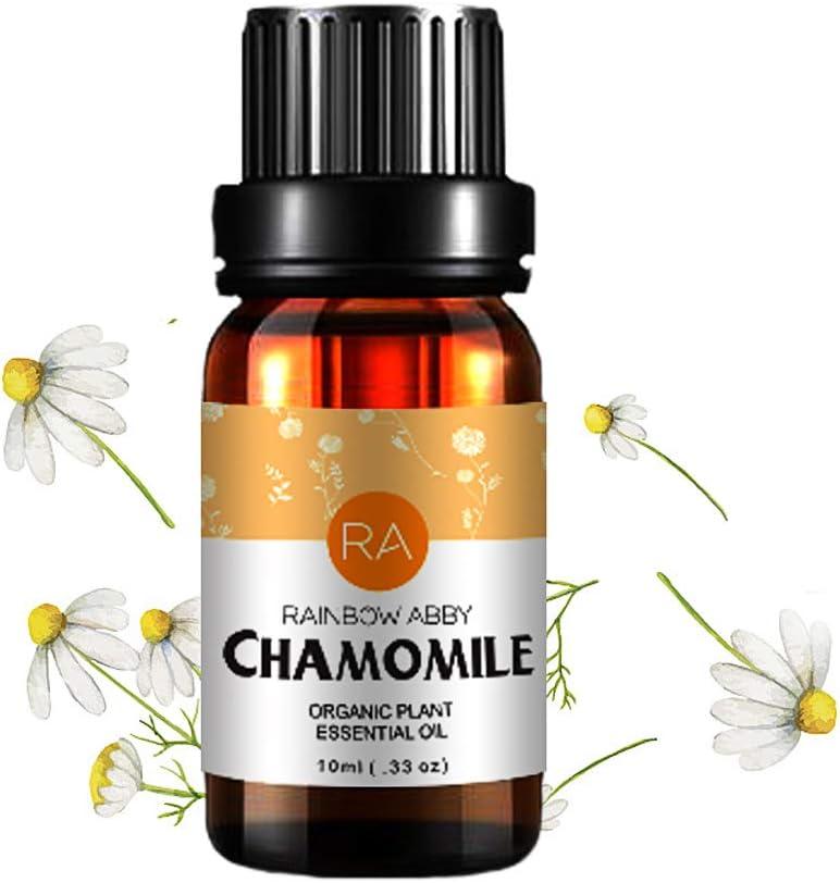 Aceite Esencial de Manzanilla, Aceite de Manzanilla Para Aromaterapia Natural 100% Puro Para Difusor (10ML)