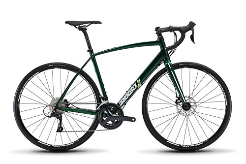 Diamondback Bicycles Century 2 Endurance Road Bike, 56cm/Large, Green