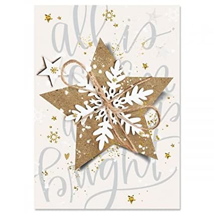 christmas star religious christmas cards set of 18 holiday greeting cards