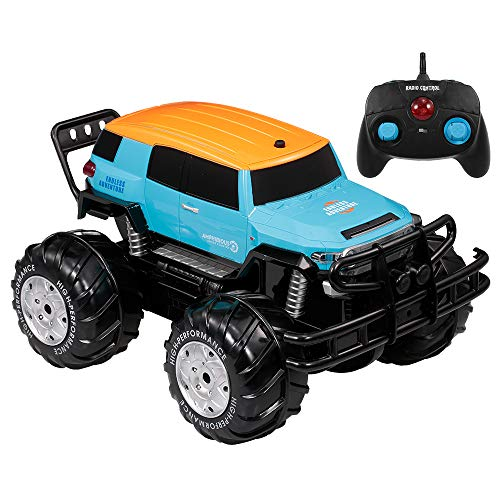 Goolsky RCカー YED1601 1/10 2.4Ghz 4WDビッグホイール オフロード 水陸両用車 クロスカントリー カー ランド 子供 おもちゃ 初心者