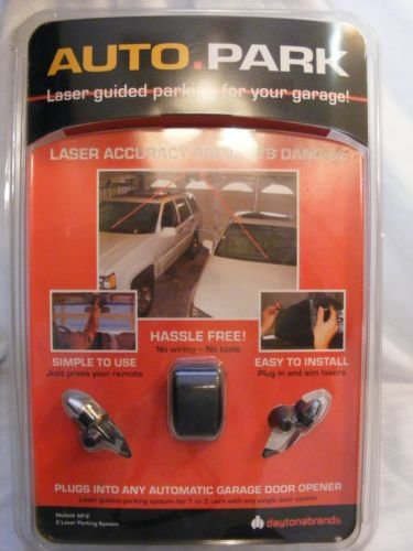 Auto Park Laser Guided Parking System for 1 or 2 Cars Ap-2 ()
