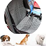 Cheap AUXMART Dog Seat Cover for Cars Trucks and SUVs – Non Slip Backing – Waterproof – Unconditional 100cm x 52cm / 39.37inch x 20.47inch
