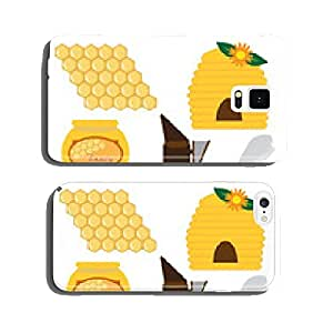 beekeeping set vector illustration cell phone cover case iPhone6
