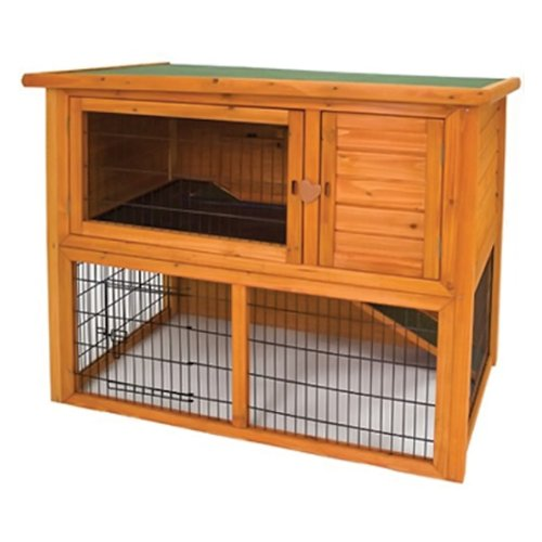 (Ware Manufacturing Premium Plus Penthouse Hutch for Rabbits and Small Pets)