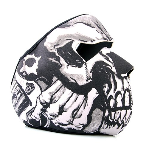 Brand New Neoprene Lethal Threat Jester Face Mask