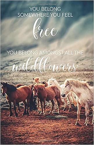 You Belong Somewhere You Feel Free: Wild Horses sketchbook ...