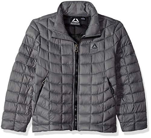 - Reebok Boys' Toddler Active Jacket with Glacier Shield, Medium Grey, 2T