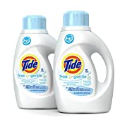 Tide Free HE Liquid Laundry Detergent, 50 oz (Pack of 2)